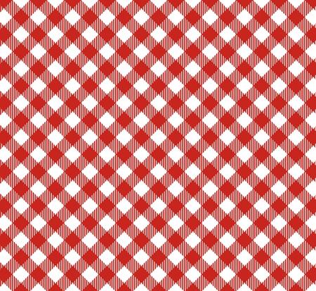 rayures diagonales: Nappes avec motif de rayures diagonales en rouge Banque d'images