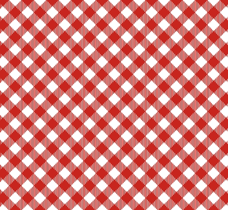 Tablecloths pattern with diagonal stripes in red photo