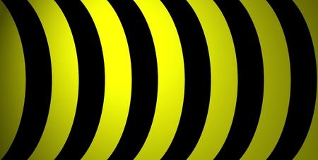 yellow black: Arcos negras amarillas Foto de archivo