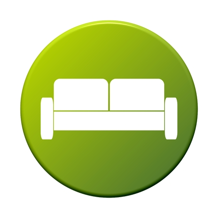 internet icons: Button Couch