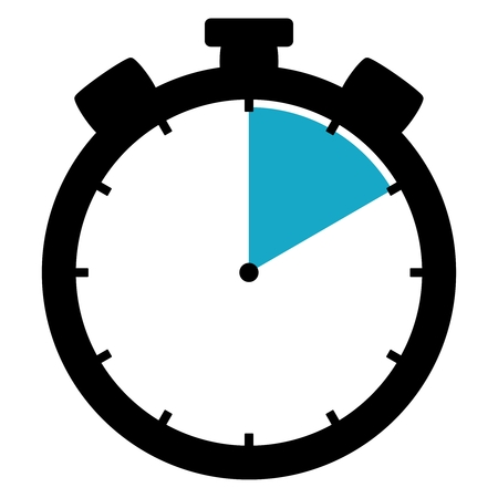 Stopwatch : 10 seconds / 10 minutes / 2 hours Stockfoto