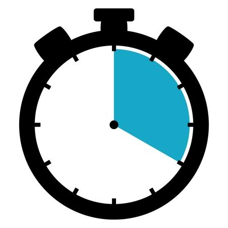 ストップウォッチ: 20 秒20 分4 時間 写真素材