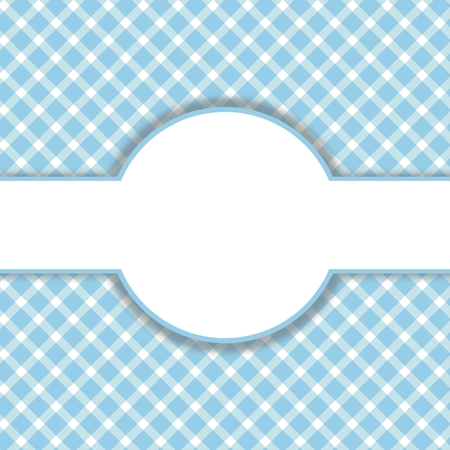 Blue - white pattern with space for text
