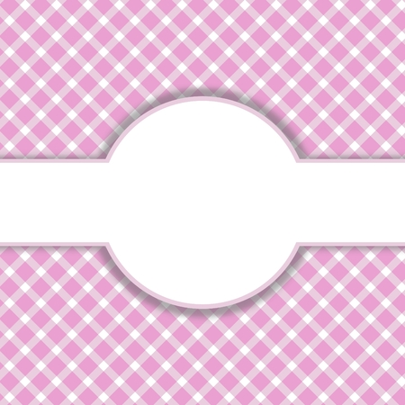 Pink - white pattern with space for text