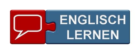 Button Puzzle imparare inglese Archivio Fotografico - 33512081