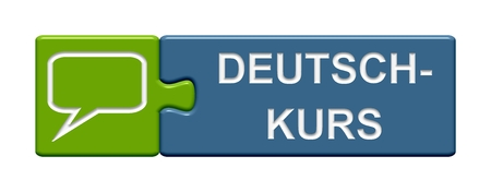 Puzzle Button Learn german photo