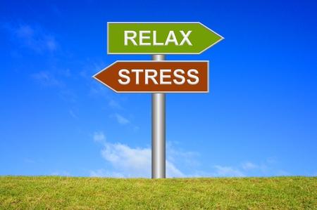 Lo stress / Relax Archivio Fotografico - 32143625