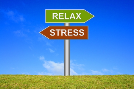 relax: Stress  Relax
