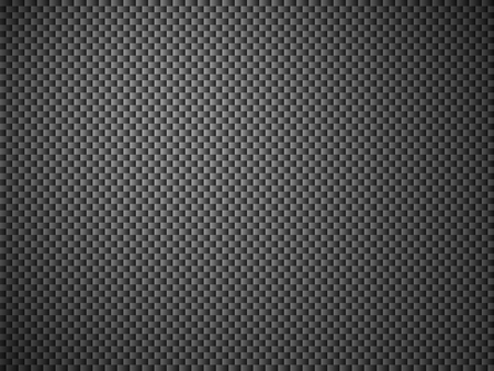 Illustration of Background with black mesh structure Stockfoto