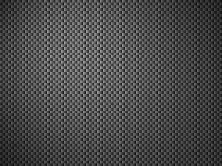 fibra de carbono: Ilustración de fondo con estructura de malla negro Foto de archivo