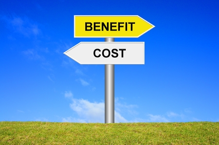 Sign: Cost - Benefit
