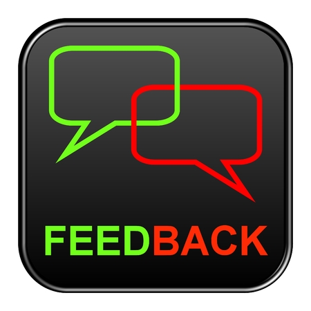 complain: Black Button Feedback