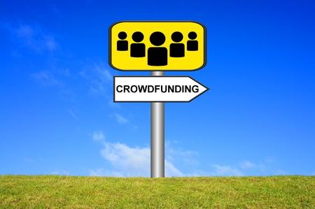 ortsschild: Sign Crowdfunding