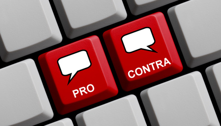 proponents: Pro Contra online