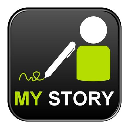biography: Black Button: My story
