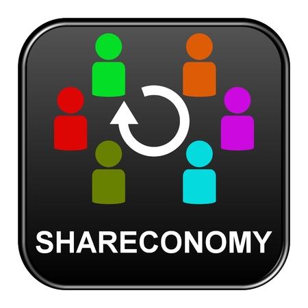 Black Button: Shareconomy photo