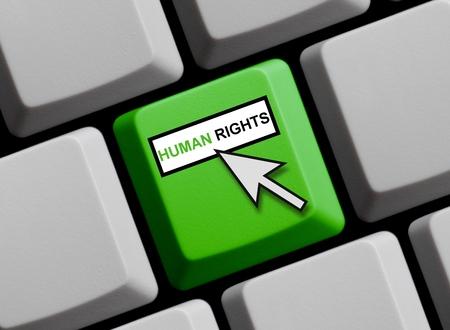 diritti umani: Diritti umani in linea