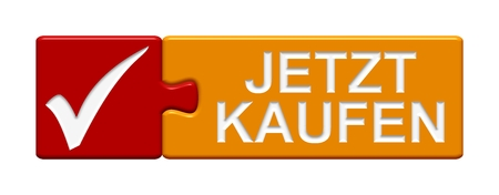webshop: Puzzle Button showing Buy now in german language
