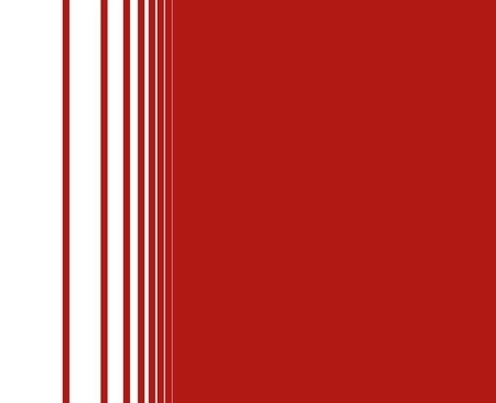 transition: Red background with thin lines transition to white