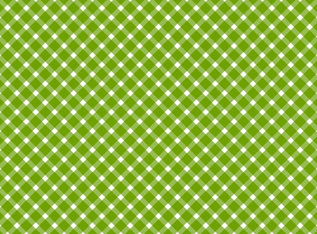diagonal stripes: Retro tablecloth background with diagonal stripes green and white