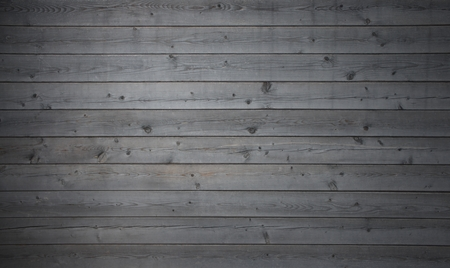 Wooden Vintage background with rustic grey wood planks Standard-Bild