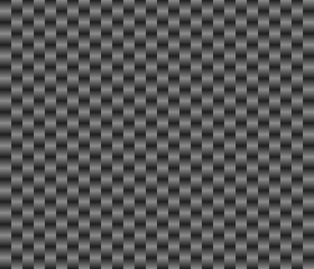 braided flexible: Seamless Background with braided dark gray structure Stock Photo