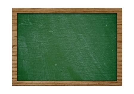 pizarron: Pizarra en blanco antiguo con marco de madera y espacio de la copia