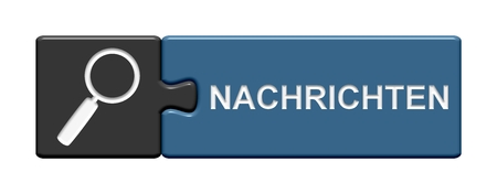 two pieces: Puzzle Button with two pieces showing News in german language