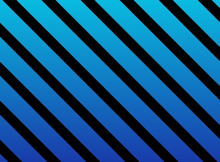 striated: Striped background with diagonal stripes blue and black Stock Photo