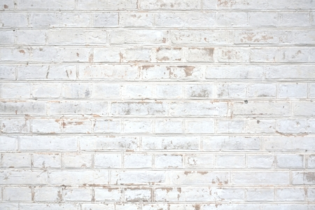 brick facades: Background of an old Stone wall white Stock Photo