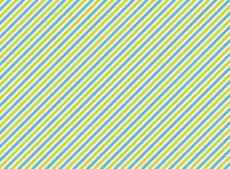 Background with happy diagonal stripes: green, blue, white