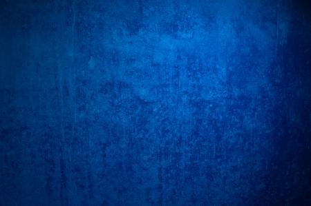 Kühl und dunkel blau Grunge Hintergrund eines alten Oberfläche Lizenzfreie Bilder