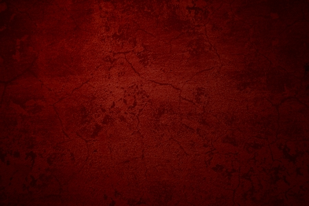 scratched: Cool grunge background of an old red surface
