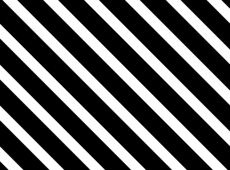 Background with diagonal white and black stripes Stock Photo