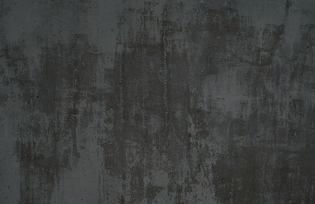 pared rota: grunge de fondo oscuro de una superficie gris de edad