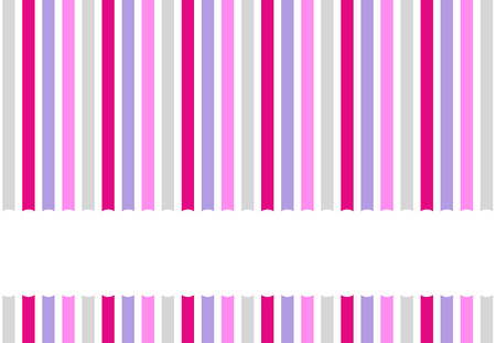 striped: Background pattern with stripes pink grey purple white and empty space for your text