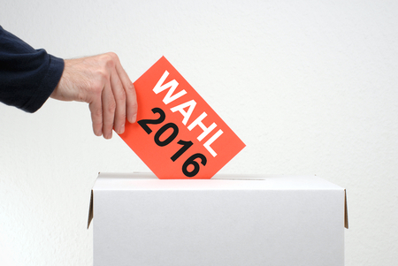ballot papers: Don not forget to vote - Elections in 2016