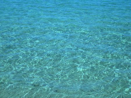 welling: Sfondo di fresco superficie di acqua blu Archivio Fotografico