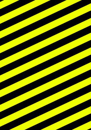 Background with diagonal stripes yellow black Stock Photo