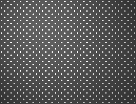 wallpaper dot: Dark gray background with little white dots Stock Photo