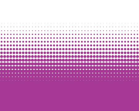 transition: Background color transition purple dots and white Stock Photo