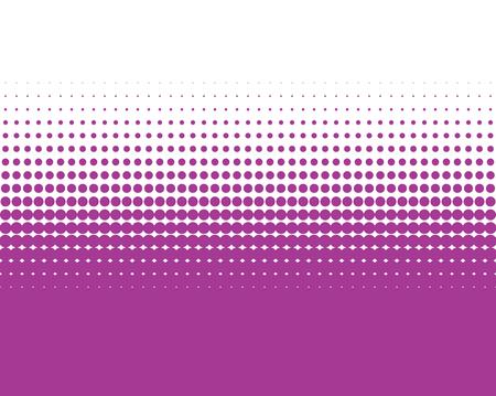 Background color transition purple dots and white Reklamní fotografie