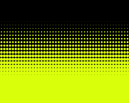 transition: Transition of yellow dots on black background