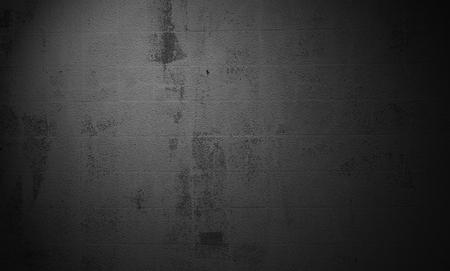 Old grunge fond de mur en béton foncé avec des rayures