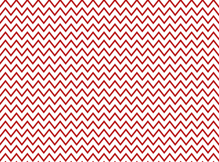 zag: Seamless Zig Zag Pattern red and white
