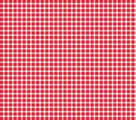checkered background: Checkered background tablecloth red white