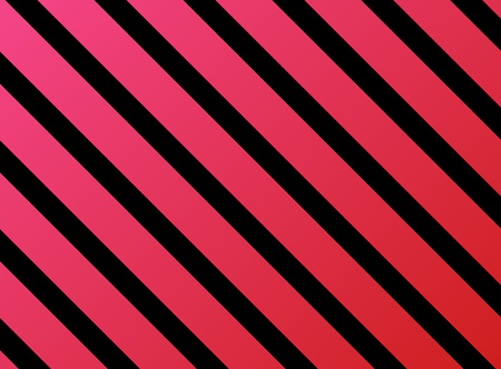 pink and black: Diagonal stripes red pink black Stock Photo
