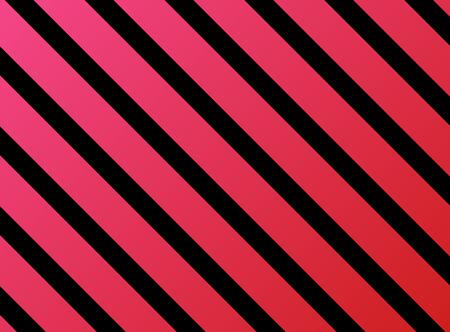 rosa negra: rayas diagonales negro rosa roja Foto de archivo