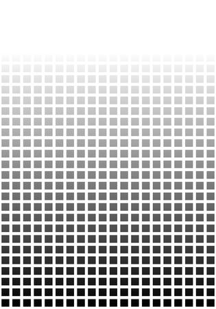 전환이있는 검은 흰색 픽셀 배경