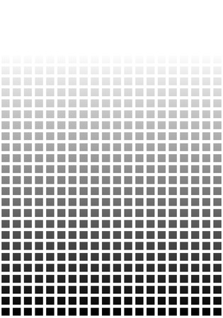 transition: Black white pixel background with transition